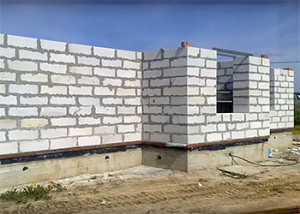 Возведение стен из пеноблоков своими руками
