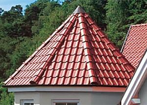 Конусная крыша