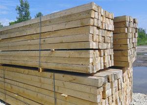 деревянный брус для перекрытия