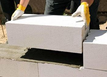 Кладка газосиликатных блоков своими руками