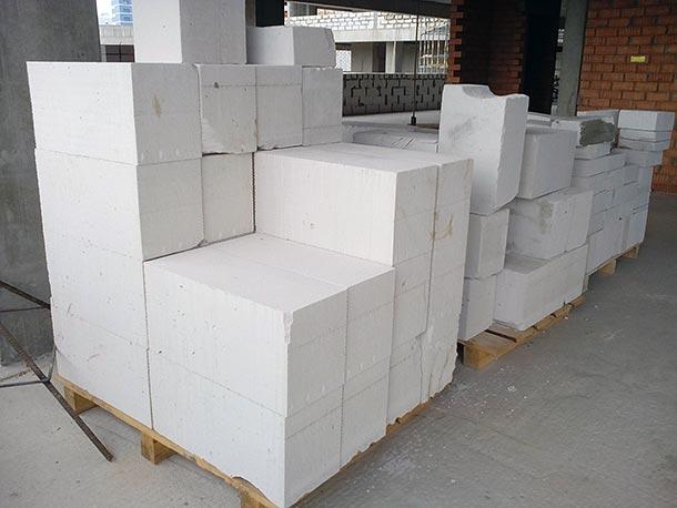 Газосиликатные блоки разного размера