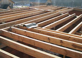 Как сделать деревянные перекрытия между этажами в  446