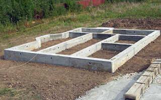 Как сделать фундамент для дома своими руками?