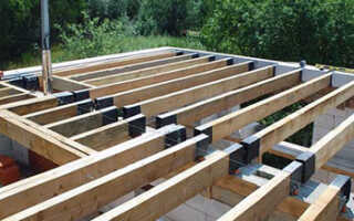 Как сделать деревянное перекрытие в доме из газобетона правильно и надежно