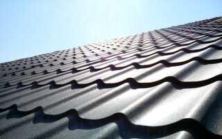 Каких размеров бывают листы металлочерепицы для крыши