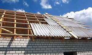 Как правильно накрыть крышу шифером своими руками — технология выполнения работ
