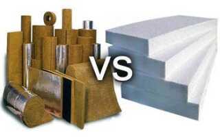 Какой утеплитель лучше пенопласт или минеральная вата – сравнение