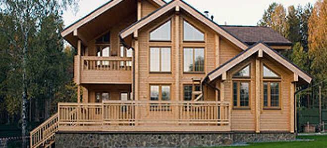 Технология строительства дома из бруса от фундамента до крыши своими силами