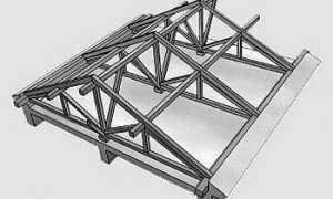 Как правильно сделать стропильную систему двухскатной крыши своими руками