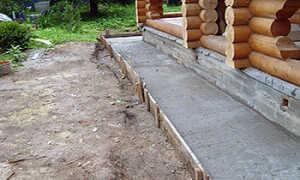 Как правильно сделать отмостку из бетона