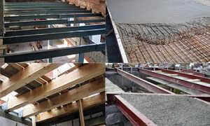 Виды перекрытий зданий, их конструктивные особенности, правила монтажа и эксплуатации