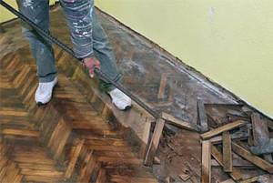 ремонт пола в квартире своими руками