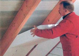 утепление крыши пенопластом своими руками